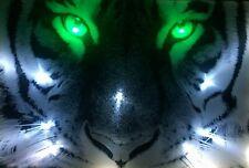 LED Bild Bilderrahmen led-bilder Wandbild 65 cm x 45 cm Leuchtbilder TIGER
