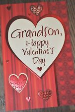 Bella Greetings Card #11732 VGSO--Grandson, Happy Valentine's Day -NEW