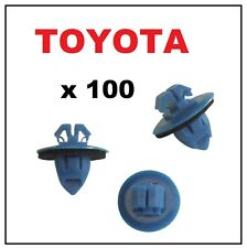 100 x SIDE MOULDING WHEEL ARCH FLARE ROCKER PANEL TRIM CLIPS FASTENERS RETAINERS