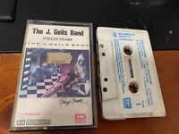 The J Geils Band Freeze Frame Cassette Tape