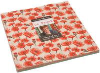 """Le Pavot Moda Layer Cake 42 100% Cotton 10"""" Precut Quilt Squares"""