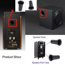 Speaker Port Tube Subwoofer Bass Reflex Tube Speaker Box Tube 53x100mm Nice