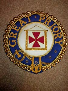 Great Priory Mantle Badge. Preowned