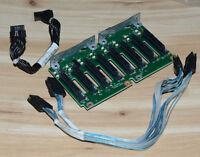 69Y0650 IBM 8x2.5-inch SAS/SATA Hot-Swap Drive Backplane  + cables