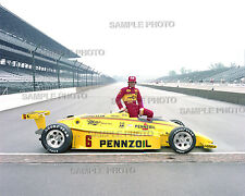 RICK MEARS 1984 INDY 500 WINNER AUTO RACING 8X10 PHOTO #2