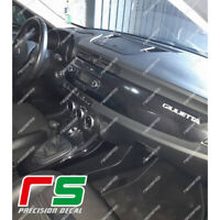 alfa romeo giulietta logo 2016 ADESIVI sticker decal carbon look 3D-4D