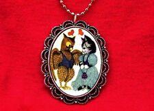 OWL & PUSSYCAT VINTAGE VALENTINE HEART PENDANT NECKLACE