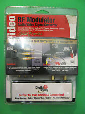RF Modulator Gold Series Audio Video Signal Converter.