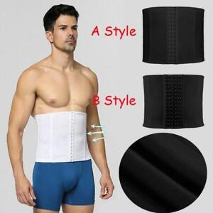 Herren Atmungsaktiv Verstellbar Bauch Gürtel Schlankmachend Körper Abdomen Turn