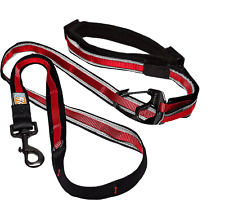 "Kurgo Quantum Leash Barn Red Adjustable 48"" to 72"" 6 in 1 K01505"