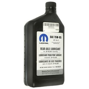 AXLE LUBRICANT SAE 75W-85 FOR ZF-ELSD ASSEMBLY 1L/1.05 US QT MOPAR 68083381AA