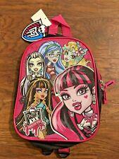 """Mochila De Monster High Mini 10"""" con correas acolchadas ajustables-Nueva con etiquetas"""