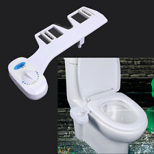 Fresh Water Spray manual Non-Electric Bidet Toilet Seat Attachment Flow Adjust