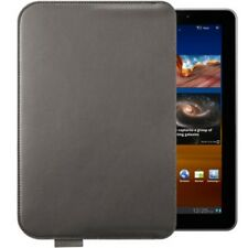 GENUINE SAMSUNG GALAXY TAB 7.7 P6800 P6810 BROWN LEATHER POUCH SLEEVE CASE