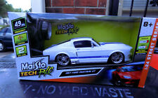 Maisto '67 Ford Mustang GT 27 Mgz RC Car, New in box.
