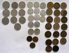 Münzen Sammlung aus Österreich 46 Münzen ( Siehe liste )