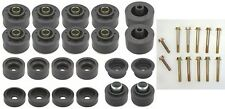 1978-1988 G-Body Reproduction Rubber Body Mount Bushings Kit with Bolts