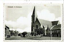 CPSM carte postale-Belgique Poelkapelle- De Marktplaats VM29744