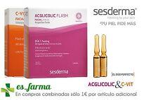 SESDERMA C-VIT FLASH 1 AMP SERUM C VIT + ACGLICOLIC 1 AMP TRATAMIENTO 2 DIAS