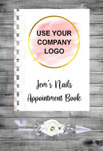Personalised A4 Appointment Book/Diary - ADD YOUR LOGO - BP12
