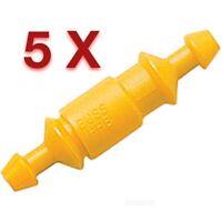 5 x Inline Glass Fuse Holder BUSS HHB Bussman 16 - 12AWG 30a Max