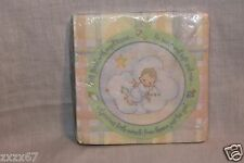 NEW PRECIOUS MOMENTS BABY SHOWER SQUARES DESSERT NAPKINS PARTY SUPPLIES
