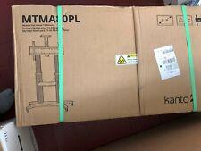 "Kanto - MTMA80PL Mobile TV Cart For Most 55"" - 80"" Flat-Panel TVs - Black"