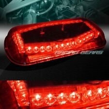 32 LED RED TRUCK EMERGENCY ROOF TOP HAZARD WARNING FLASH STROBE LIGHT UNIVERSAL