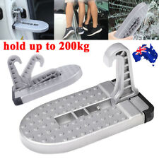 Portable Door Hook Truck Folding Foot Pedal Latch Step Jeep SUV Car for Ladder