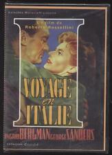 NEUF DVD VOYAGE EN ITALIE SOUS BLISTER 1954 ROBERTO ROSSELLINI  BERGMAN SANDERS