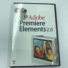 Adobe Premiere Elements 2.0 Windows XP w/ Serial Number