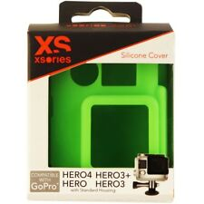 XSories Silicone Cover Case for GoPro Hero, Hero 3, 3+ and Hero 4 - Green
