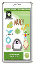 NEW!!  Cricut cartridge Spring Fever Seasonal !   RARE and VHTF!  Free shipping!