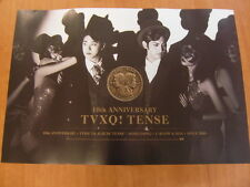 TVXQ TOHOSHINKI - Tense [OFFICIAL] POSTER K-POP *NEW*
