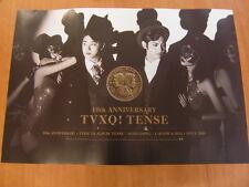 TVXQ TOHOSHINKI - Tense [OFFICIAL] POSTER K-POP *NEW*