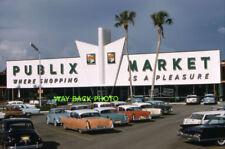 """4""""x 6"""" Reprint Photo 1961 Publix Grocery Store, East Venice, Florida"""