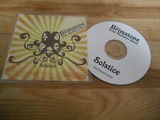 CD rock le soufre solar radiation Bande-solstice (9 chanson) promo Big Dipper