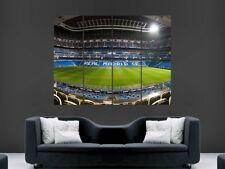 Real Madrid Santiago Bernabeu la Liga España Poster Real Madrid Art Print