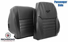 1999 Ford Mustang GT V8 -Passenger Complete Perforated Leather Seat Covers Black