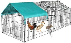 """BestPet Chicken Coop Cage Pet Crate Rabbit Cat Cage Enclosure Pet Playpen 88"""""""