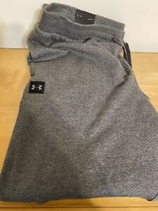 Under Armour Jogger Sweatpants Cold Gear Loose Men's Gray Size XXL Extra Large