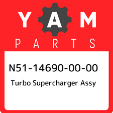 N51-14690-00-00 Yamaha Turbo supercharger assy N51146900000, New Genuine OEM Par