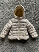 United Colors of Benetton jacket beige color size XS 4-5 years