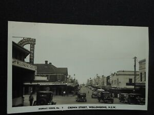 Wollongong NSW Real Photo Good condition back shows album marks
