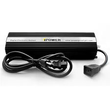 iPower 600 Watt Digital Dimmable HPS&MH Ballast for Grow Light GLBLST600D New!