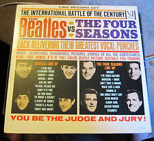 "Original RARE 1964 Mono ""The Beatles vs The Four Seasons"" 2LP Set (NM)"