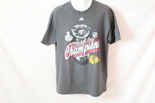 Men's Grey Alstyle Apparel Chicago Blackhawks T-Shirt - Size L