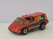 Hot wheels . Chevrolet van Vette rouge . Malaysia