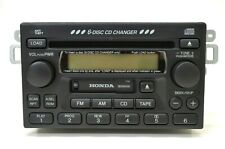 Honda 6-Disc Changer Car CD Player Radio Cassette 39100S84A300 Untested 2002 OEM