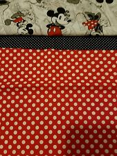 Embroidered Personalized STANDARD Pillowcase Poke-a-dot w/ Mickey n Minnie Mouse